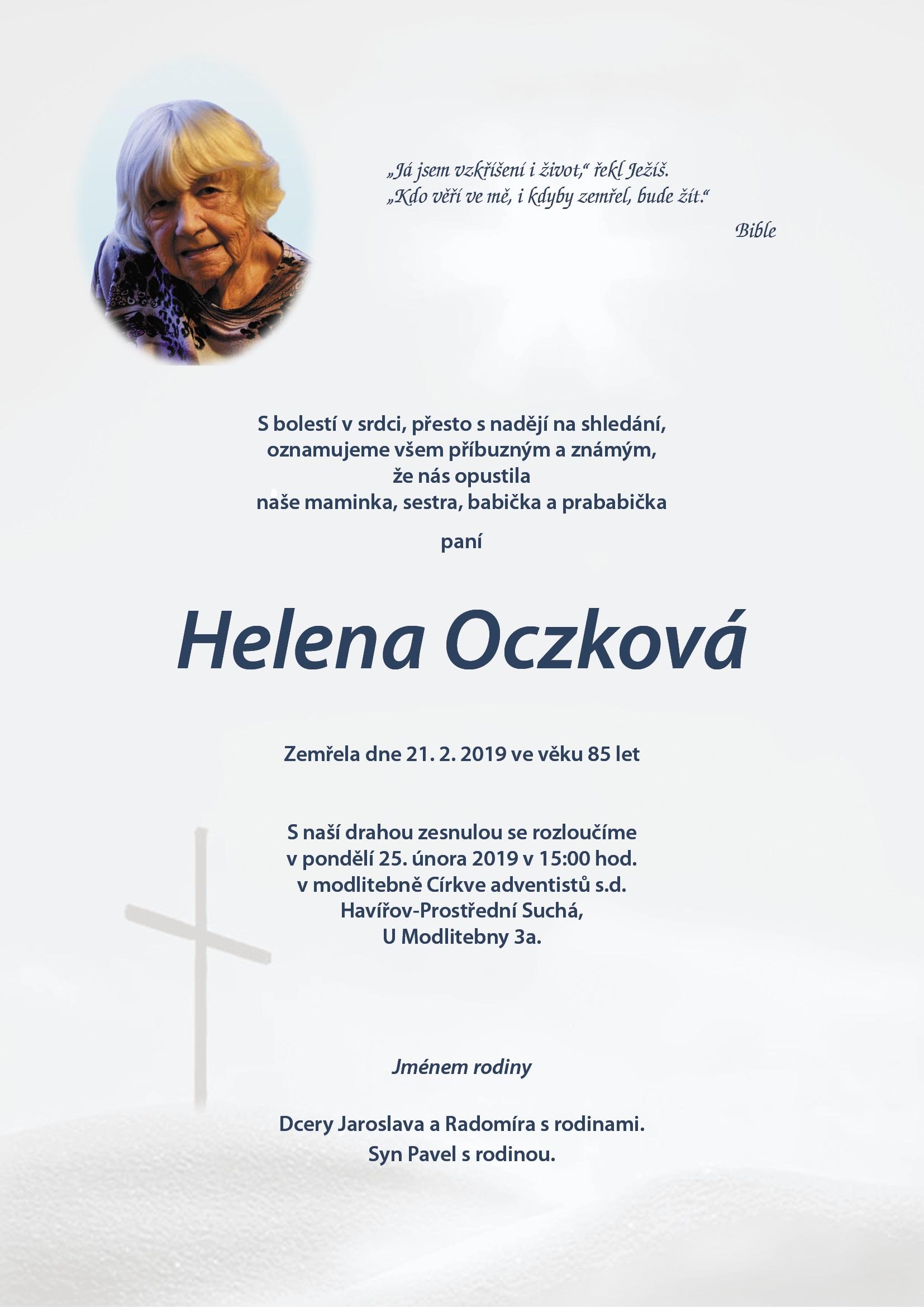 Parte Helena Oczkova